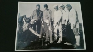 From left Charled Lloyes, Des Grant, Alan Barnard, Barry Tait, Lester Schoeman & Bokka vd Westhuizen